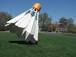 Art Entries a look at the shuttlecock at Nelson Atkins