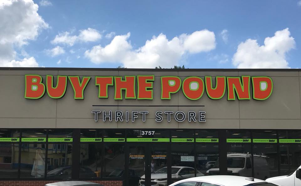 BUY THE POUND THRIFT STORE